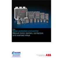 ABB AF series 3-pole contactor datasheet